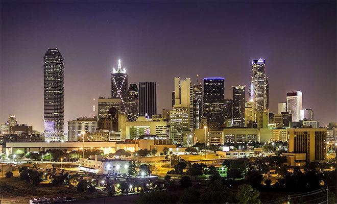 Houston city scape
